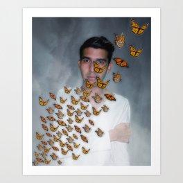 Migración Monarca - Monarch Migration Art Print
