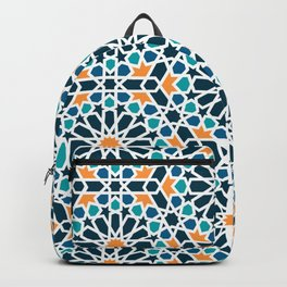 Tile of the Alhambra Backpack