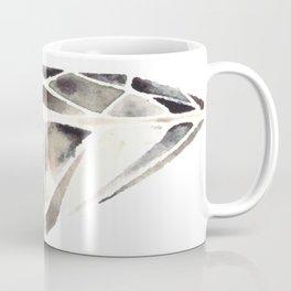 Monotone Diamond Coffee Mug