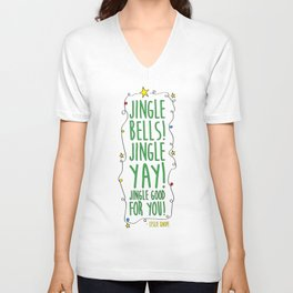 Jingle Yay Unisex V-Neck