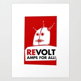 Revolt! Art Print