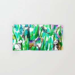 Jungle Green Hand & Bath Towel