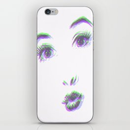 O_oh iPhone Skin