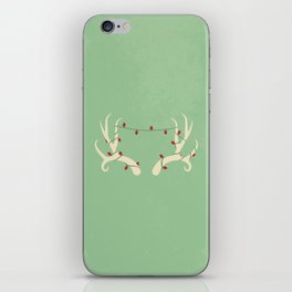 Antler Lights iPhone Skin