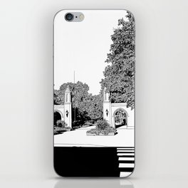 bloomington III iPhone Skin