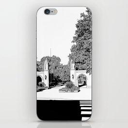 bloomington III iPhone Skin