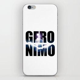 Doctor who Geronimo iPhone Skin