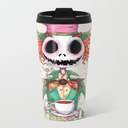 Jack Hatter Metal Travel Mug
