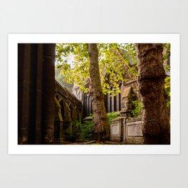 Kensington Tranquility Art Print