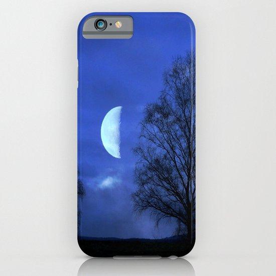 Moon between Trees  - JUSTART © iPhone & iPod Case