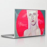 koi Laptop & iPad Skins featuring Koi by Josh Merrick