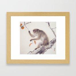 Monkey by Hashimoto Kansetsu, 1940 Framed Art Print
