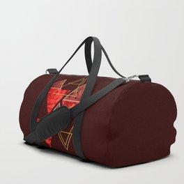 Red Fall #society6 #decor #buyart Duffle Bag