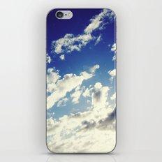 head in the clouds iPhone & iPod Skin
