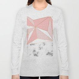 Marble & Geometry 042 Long Sleeve T-shirt