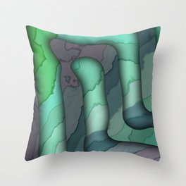 Elbow Room IV Throw Pillow