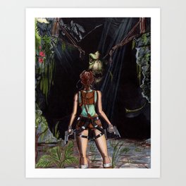 Tomb Raider - The Lost Valley Art Print