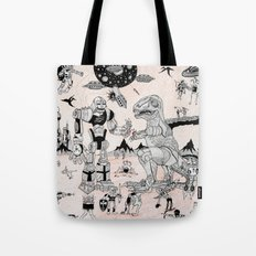 War of the Worlds (man-child edition)...original Tote Bag