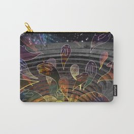 Ghost Bunnies Carry-All Pouch