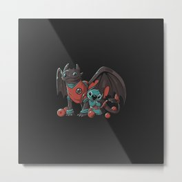 Dragon Cuties Metal Print