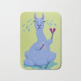 Llama Drama Bath Mat