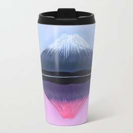 Two Fuji - Painting Travel Mug