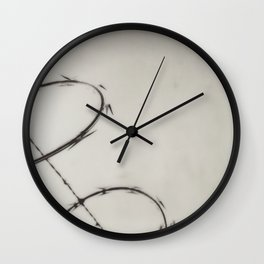 Razor Wire Wall Clock