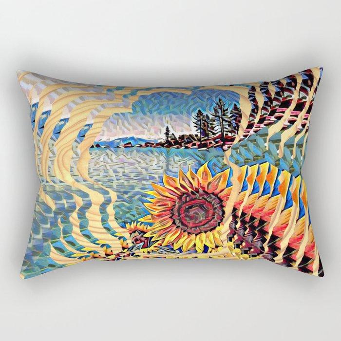 Tahoe Sunburst Rectangular Pillow