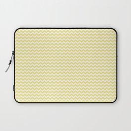 Chevron Yellow Laptop Sleeve