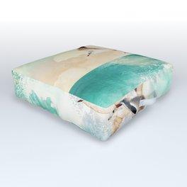 Summer Flight Outdoor Floor Cushion