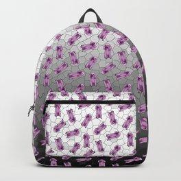 Poodle in Amethyst Mosaic Backpack