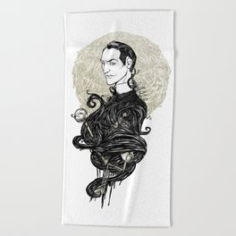 Sherlock Holmes - Consulting Detective Beach Towel
