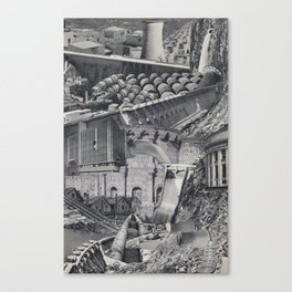 Horror Vacui V Canvas Print