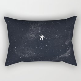 Gravity - Dark Blue Rectangular Pillow