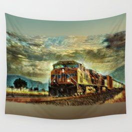 Observance Valley Freight Line Wall Tapestry
