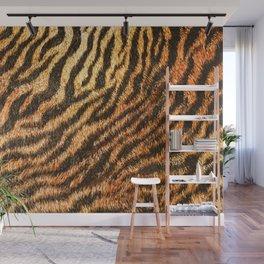 Bengal Tiger Fur Wildlife Print Pattern Wall Mural