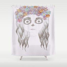 festival skull Shower Curtain