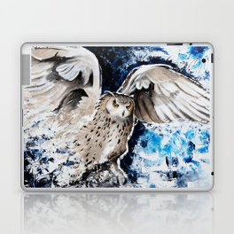 "Owl - Animal - ""I own the night..."" by LiliFlore Laptop & iPad Skin"