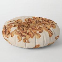 Pistachios after party Floor Pillow