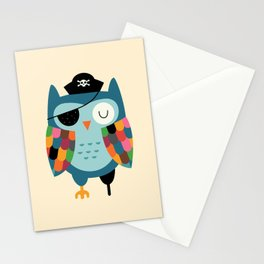 Captain Whooo Stationery Cards