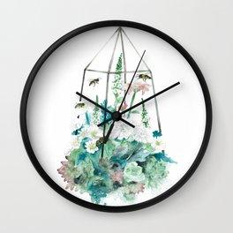 Cage III Wall Clock