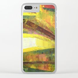 Through all obstacles Clear iPhone Case