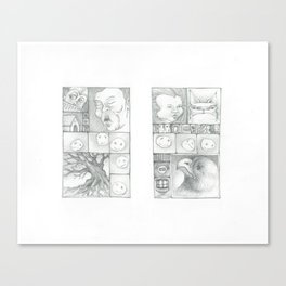 Watch and Wait Canvas Print