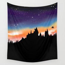 Hogwarts Sunset Wall Tapestry