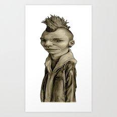 Freddy Art Print