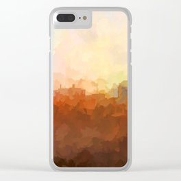 Colorado Springs Skyline - In the Clouds Clear iPhone Case