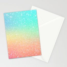 Ombre Glitter 19 Stationery Cards