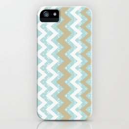 Chevrons and Dots iPhone Case