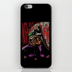 Laughing In The Dark iPhone & iPod Skin