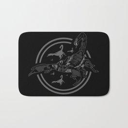 Scorpion GREY Bath Mat